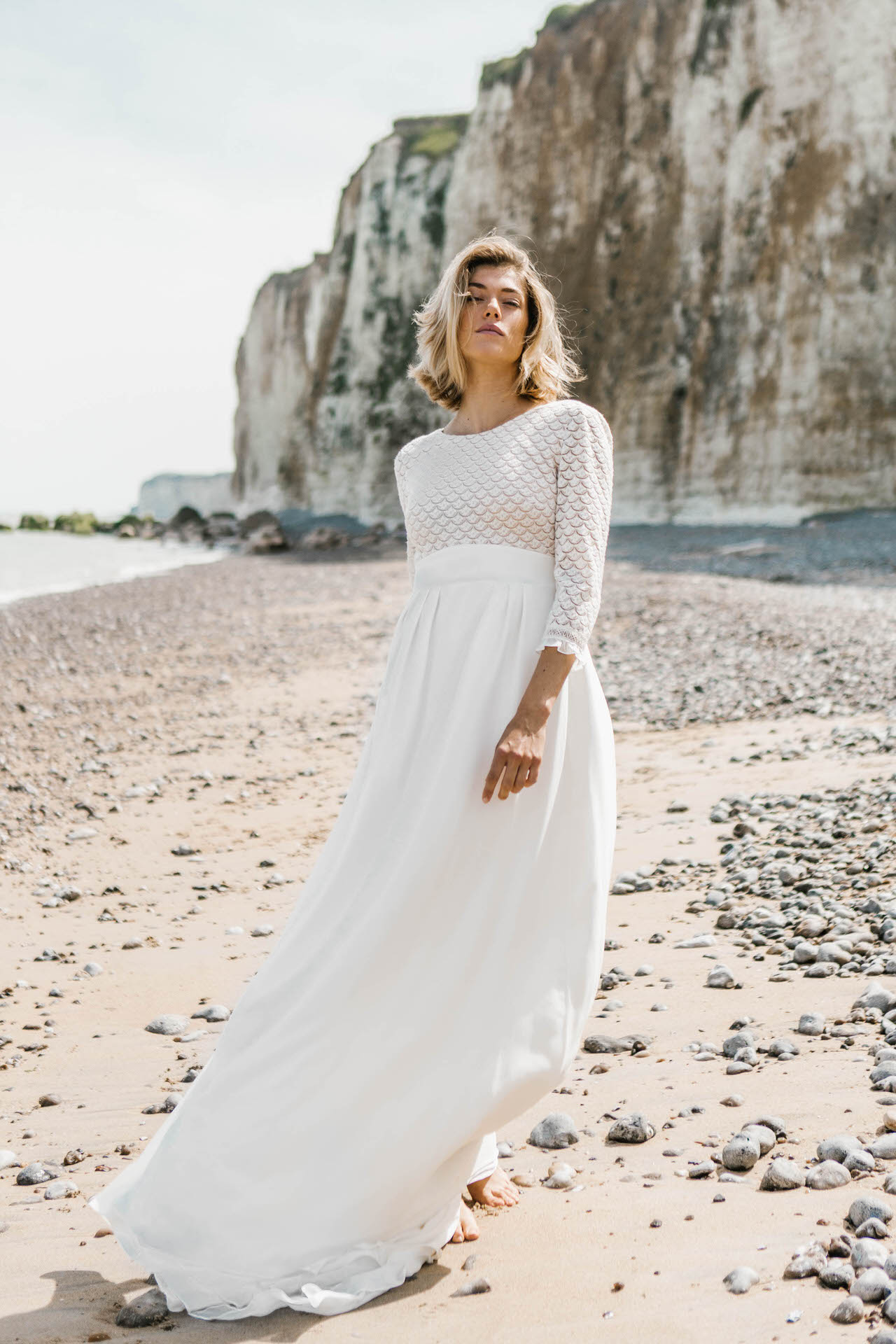 robe Madeleine - collection mariée 2019 - Lorafolk Paris